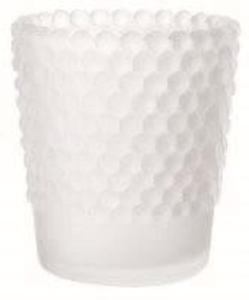 一般的に言えば同僚激しいカメヤマキャンドル(kameyama candle) ホビネルグラス 「 フロストホワイト 」6個セット