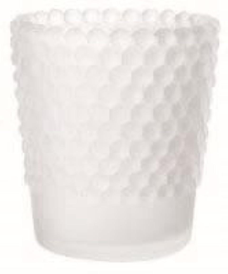 カメヤマキャンドル(kameyama candle) ホビネルグラス 「 フロストホワイト 」6個セット
