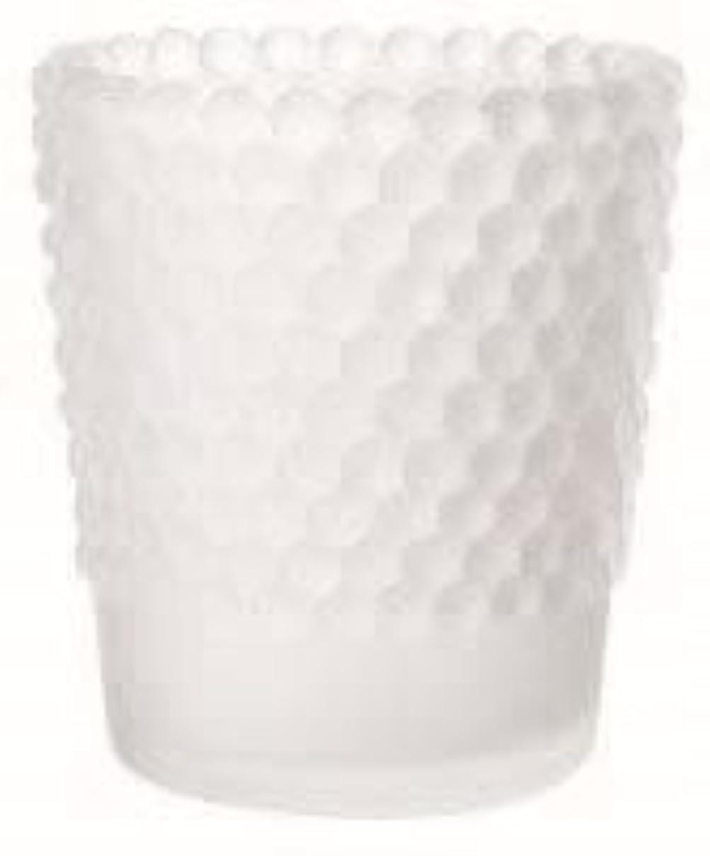 料理をするエスカレート隠すカメヤマキャンドル(kameyama candle) ホビネルグラス 「 フロストホワイト 」6個セット