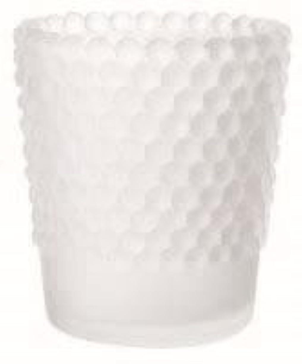 誘導誰飼いならすカメヤマキャンドル(kameyama candle) ホビネルグラス 「 フロストホワイト 」6個セット