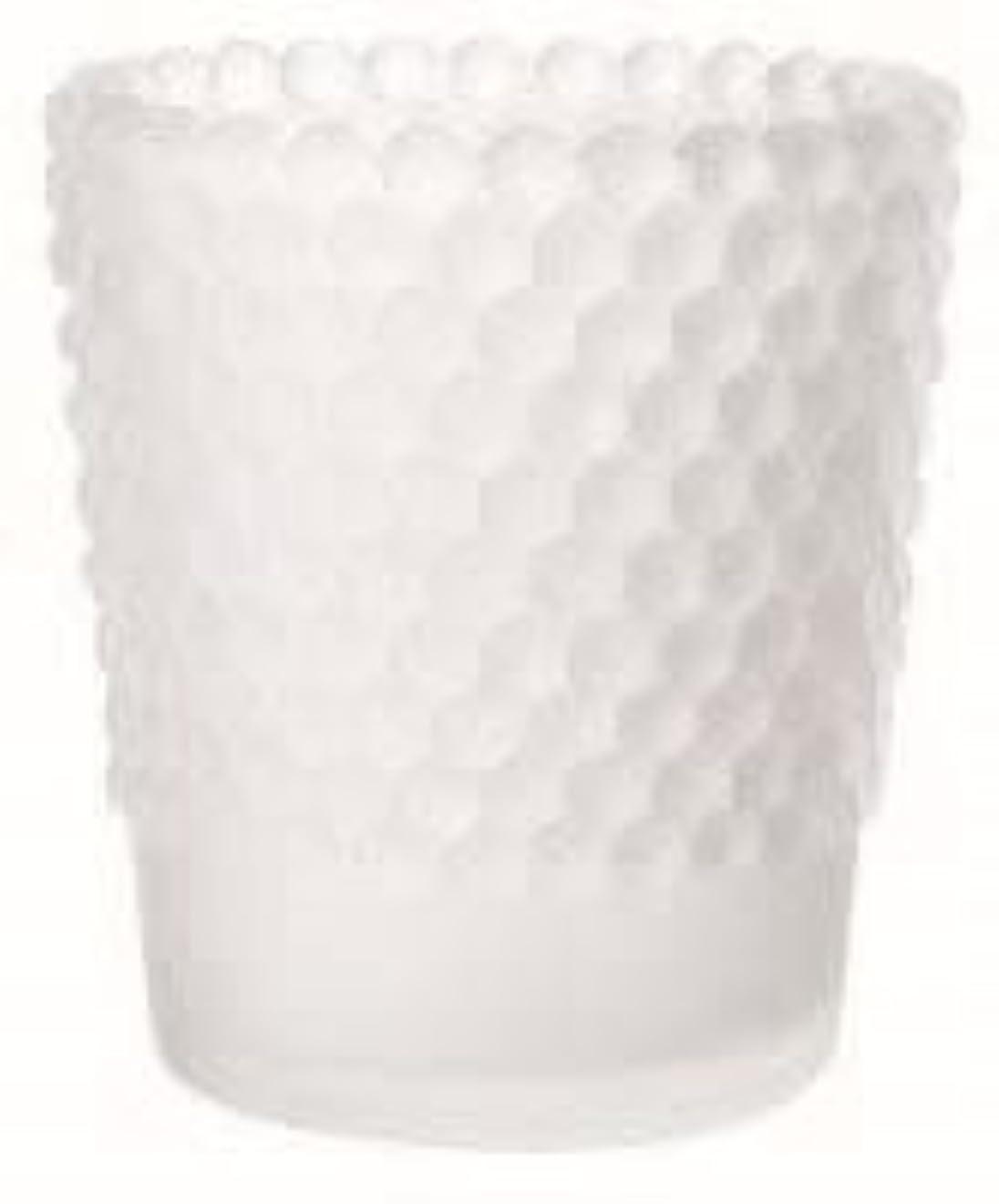 機知に富んだ記者販売計画カメヤマキャンドル(kameyama candle) ホビネルグラス 「 フロストホワイト 」6個セット