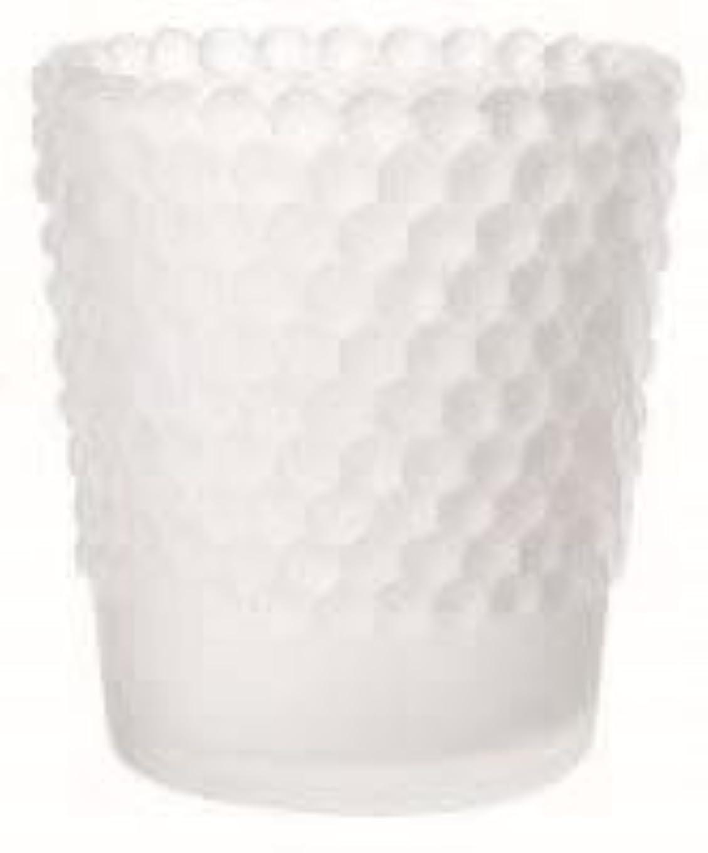連鎖手足ヘルメットカメヤマキャンドル(kameyama candle) ホビネルグラス 「 フロストホワイト 」6個セット