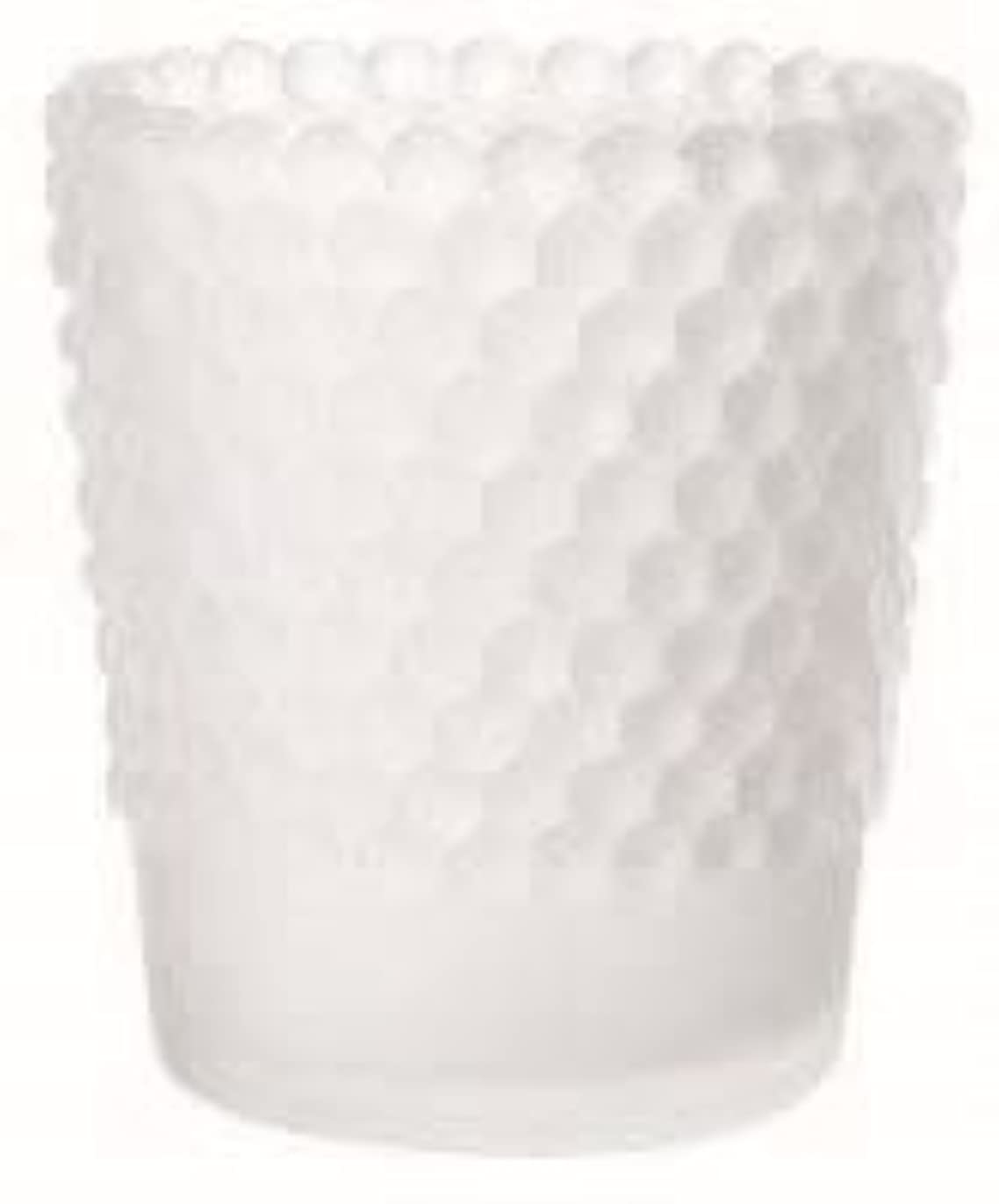 袋規制する一人でカメヤマキャンドル(kameyama candle) ホビネルグラス 「 フロストホワイト 」6個セット