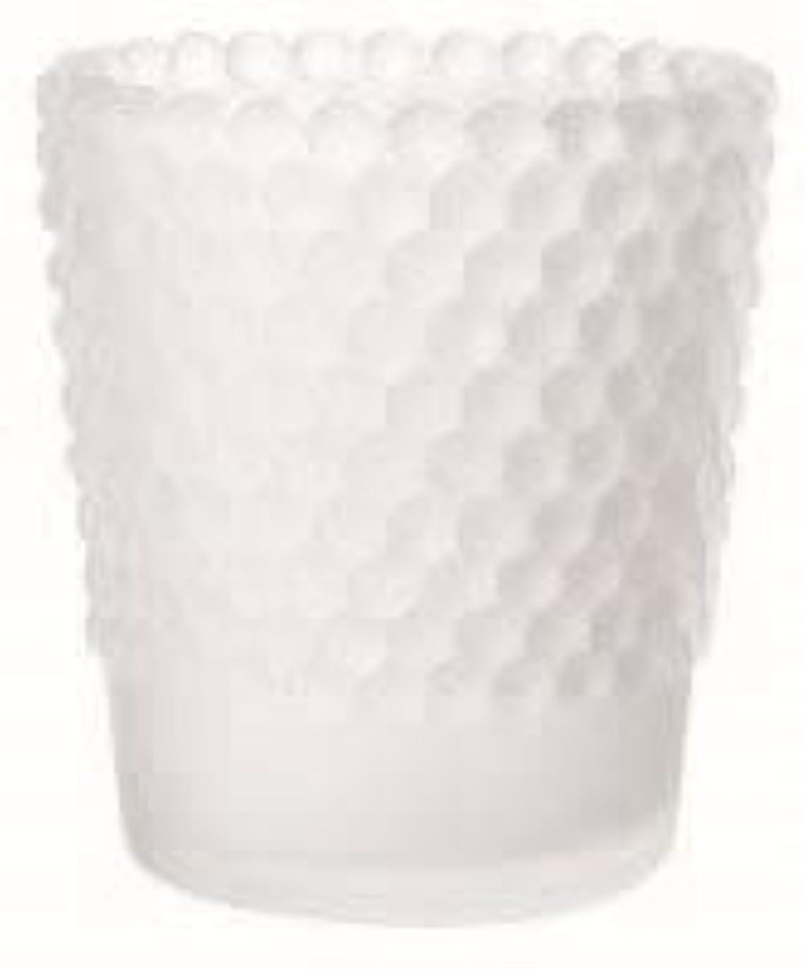 スロベニアコンパニオンアイスクリームカメヤマキャンドル(kameyama candle) ホビネルグラス 「 フロストホワイト 」6個セット