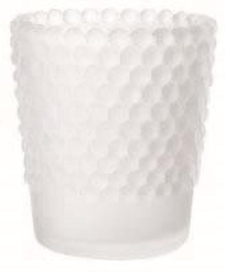 言い換えると文言入るカメヤマキャンドル(kameyama candle) ホビネルグラス 「 フロストホワイト 」6個セット