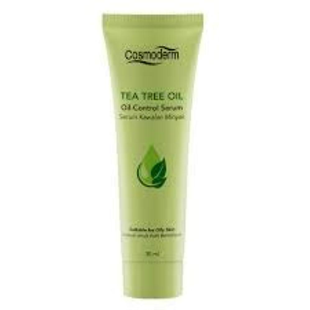 その結果花弁重要性COSMODERM ティーツリーオイルコントロールセラム30ml - 吹き出物、にきびやにきびを削減します。毛穴の邪魔を除く、石油生産を制御します。肌の自然な水分を復元します。