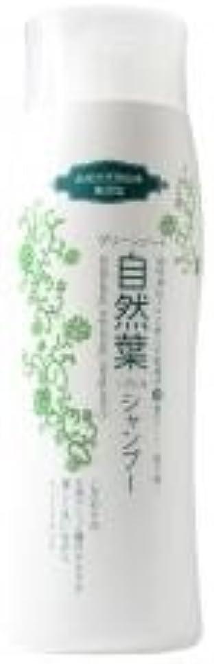 ホイッスル蛇行血色の良いグリーンノート 18種天然アミノ酸 自然葉シャンプー 300ml   6本セット