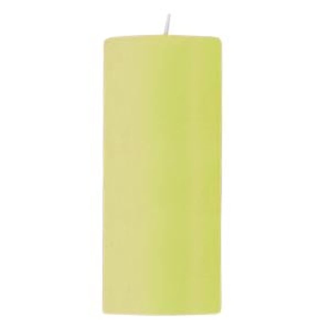 振る舞う放射能確かにキャンドル 2?3/4 ×6  ラウンド ライトグリーン