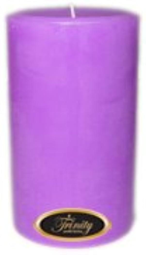 山シュリンク長方形Trinity Candle工場 – ラベンダー – Pillar Candle – 4 x 6