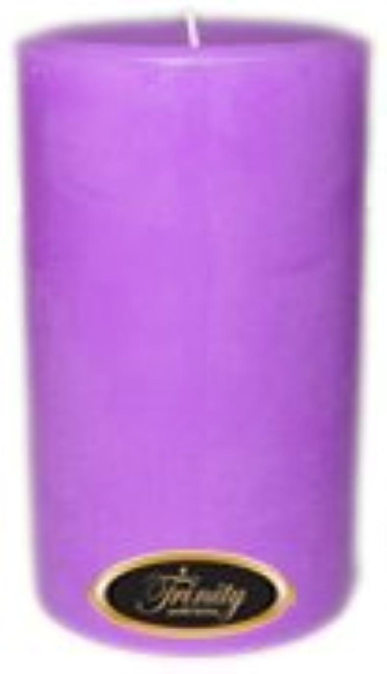 ピカリング角度プレゼンターTrinity Candle工場 – ラベンダー – Pillar Candle – 4 x 6