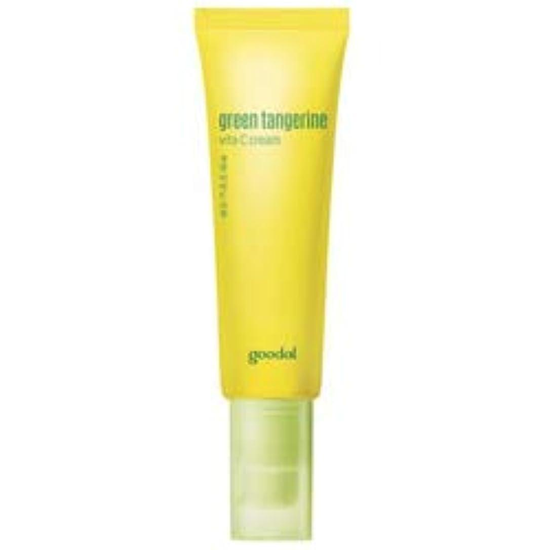 いろいろ疑問を超えてみ[goodal] Green Tangerine Vita C cream 50ml / [グーダル]タンジェリン ビタC クリーム 50ml [並行輸入品]