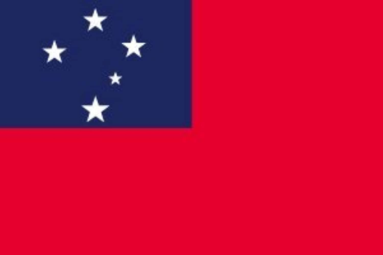 世界の国旗 サモア 国旗 [120×180cm 高級テトロン製]