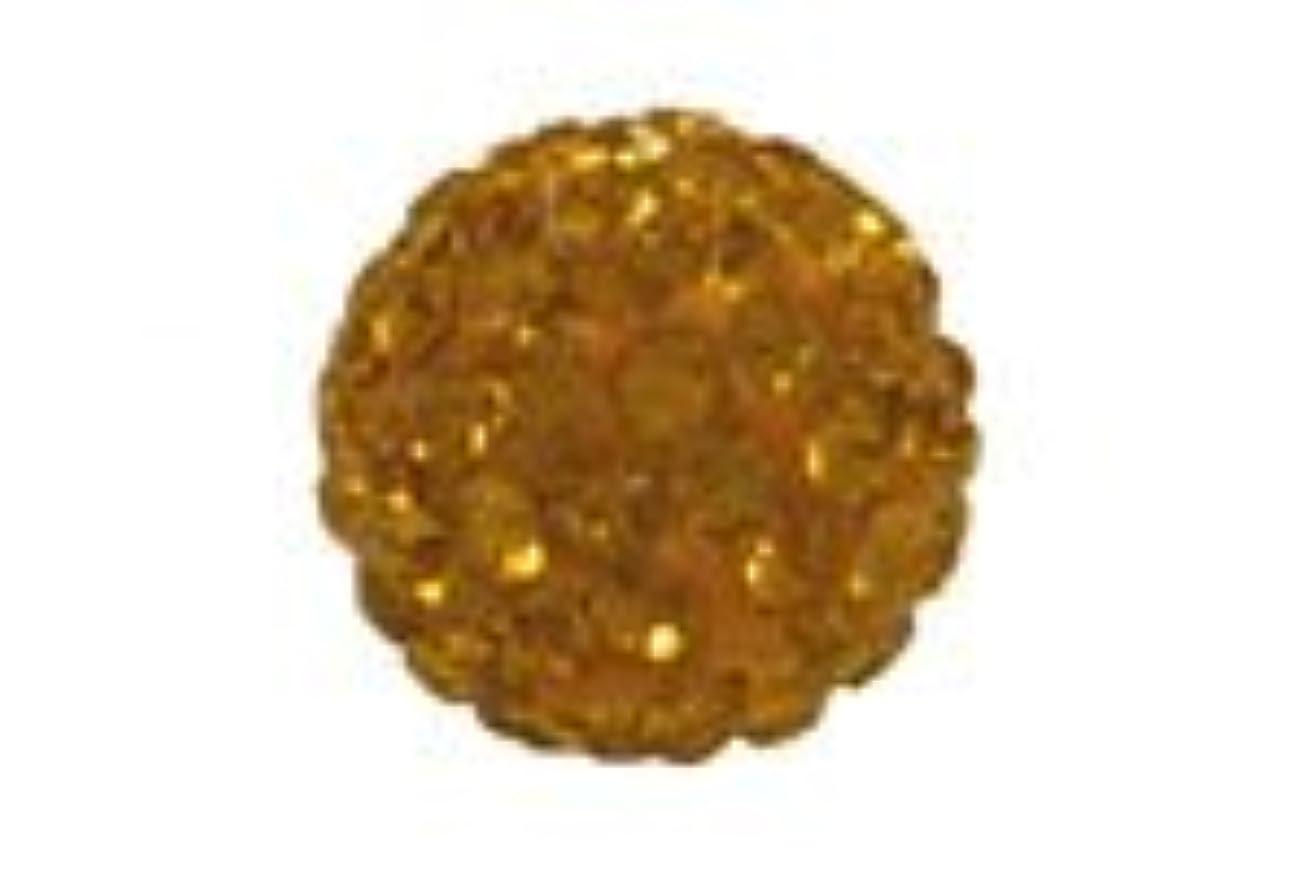 ラッカスアリ散歩キラキラクリスタルボール イエロー6mm(2穴)