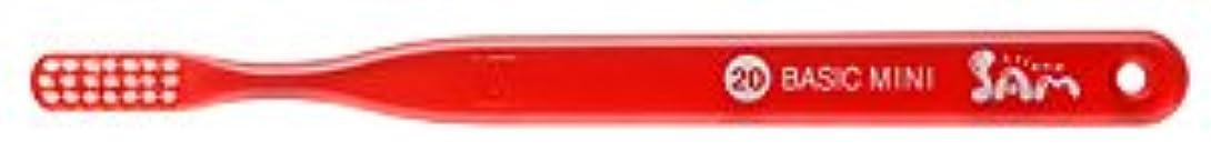 練るソブリケット振るう【サンデンタル】サムフレンド ベーシックミニ?ミディアム #20 30本【歯ブラシ】【ふつう】6色入 アソート