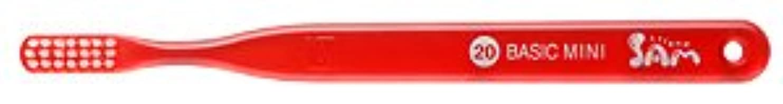 信仰散歩消える【サンデンタル】サムフレンド ベーシックミニ?ミディアム #20 30本【歯ブラシ】【ふつう】6色入 アソート