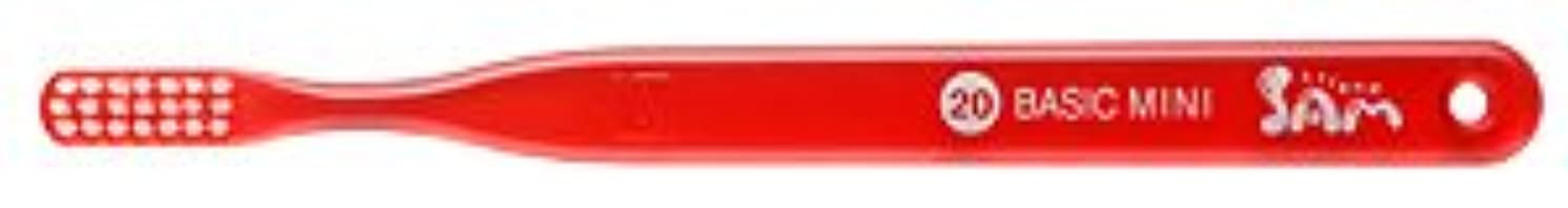 置くためにパック聴く不適【サンデンタル】サムフレンド ベーシックミニ?ミディアム #20 30本【歯ブラシ】【ふつう】6色入 アソート