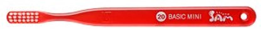 持参野菜取り扱い【サンデンタル】サムフレンド ベーシックミニ?ミディアム #20 30本【歯ブラシ】【ふつう】6色入 アソート