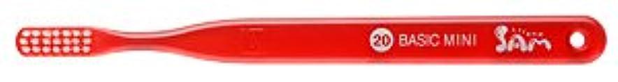 繕う細い苦行【サンデンタル】サムフレンド ベーシックミニ?ミディアム #20 30本【歯ブラシ】【ふつう】6色入 アソート
