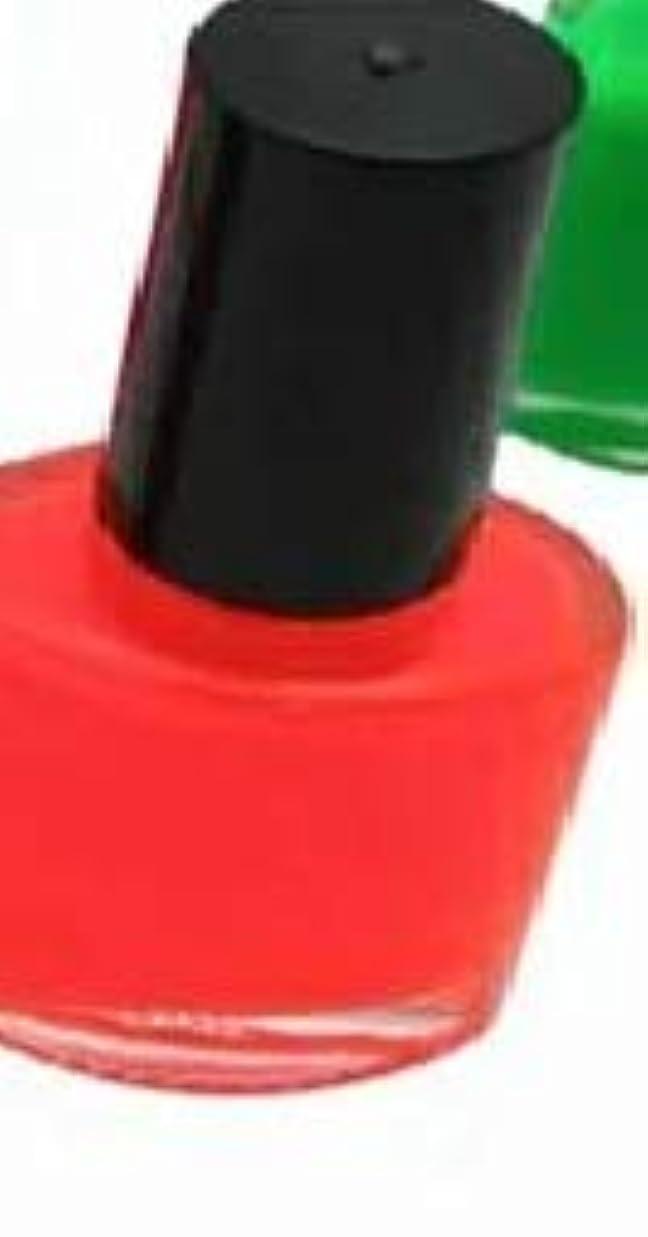 四侵入するエスカレート蛍光ペイント 5ml つけ爪用  (蛍光オレンジ)