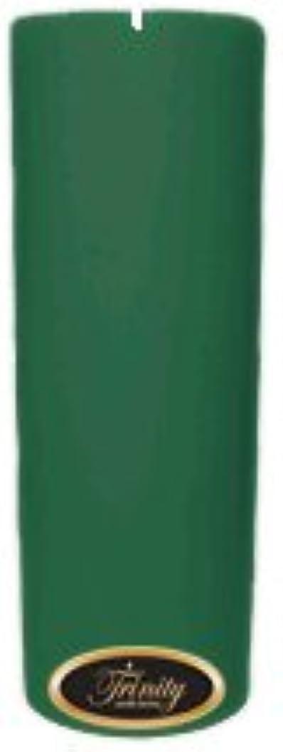 昼食発掘する変形するTrinity Candle工場 – ユーカリ – Pillar Candle – 3 x 9