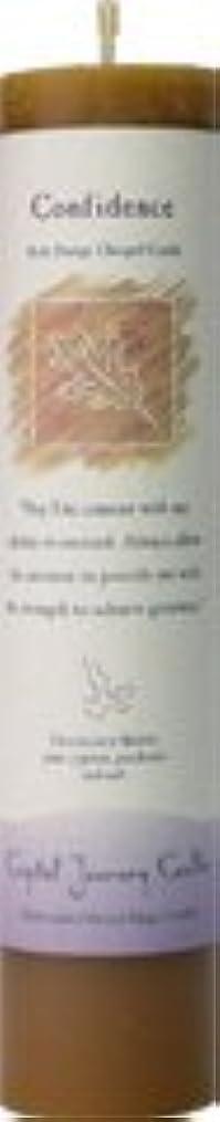 かけがえのないプラスチック時計回り魔法のヒーリングキャンドル コンフィデンス(自信を持つ)