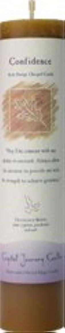 算術露骨な混乱した魔法のヒーリングキャンドル コンフィデンス(自信を持つ)