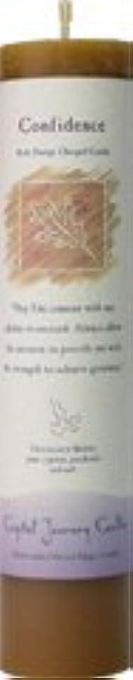 前ビーチ不安定な魔法のヒーリングキャンドル コンフィデンス(自信を持つ)