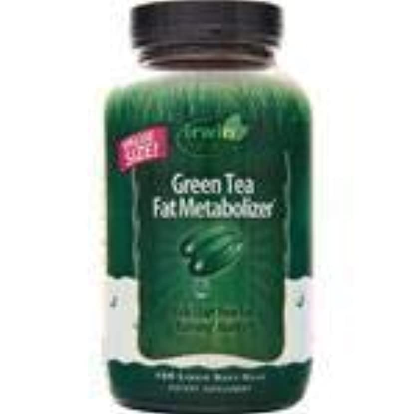 アジャ再生的分析するGreen Tea Fat Metabolizer 150 sgels 2個パック