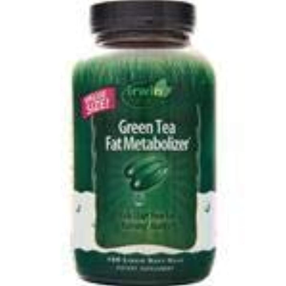 歯車組ひねりGreen Tea Fat Metabolizer 150 sgels 2個パック
