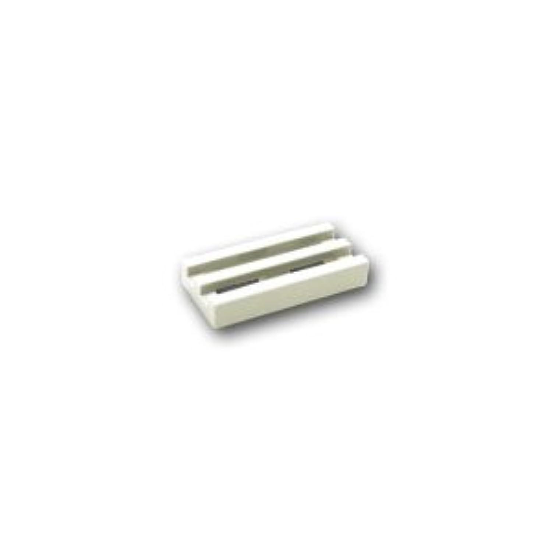 レゴブロックパーツ タイル 1 x 2 グリル:[White / ホワイト]【並行輸入品】