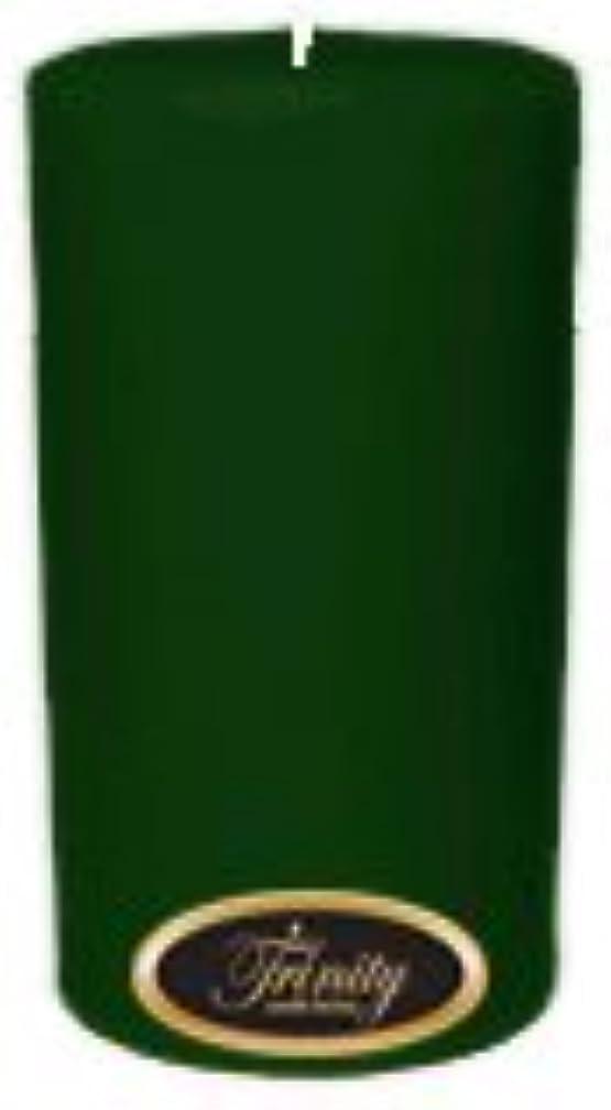 コンクリートコミュニティノベルティTrinity Candle工場 – クリスマスツリー – Pillar Candle – 3 x 6
