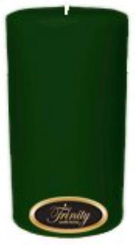 牽引交換可能排出Trinity Candle工場 – クリスマスツリー – Pillar Candle – 3 x 6