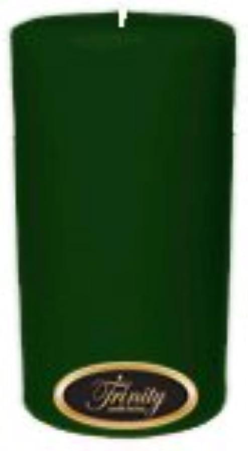 侵入ブローホール帆Trinity Candle工場 – クリスマスツリー – Pillar Candle – 3 x 6