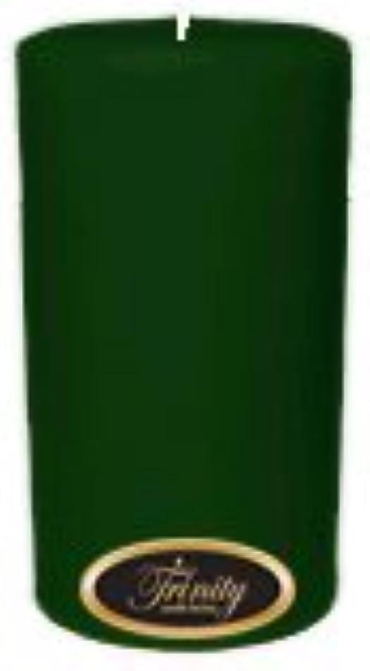 北西きつく回るTrinity Candle工場 – クリスマスツリー – Pillar Candle – 3 x 6