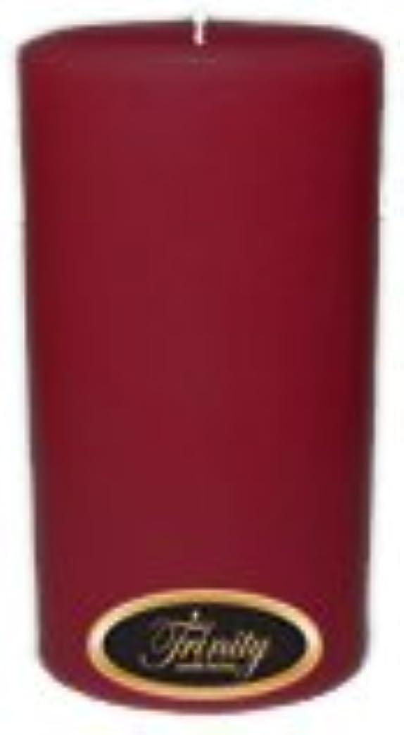 高層ビル歯滅多Trinity Candle工場 – Creme Brulee – Pillar Candle – 3 x 6