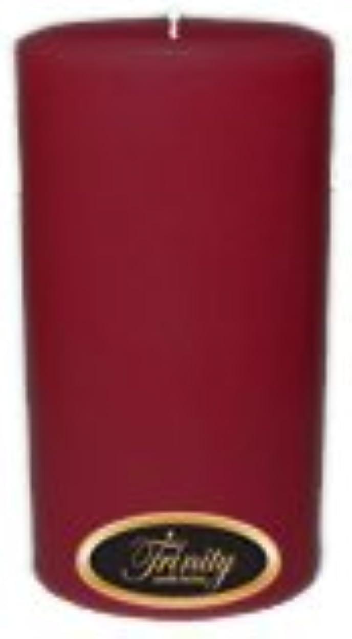 振動させる独占バーターTrinity Candle工場 – Creme Brulee – Pillar Candle – 3 x 6