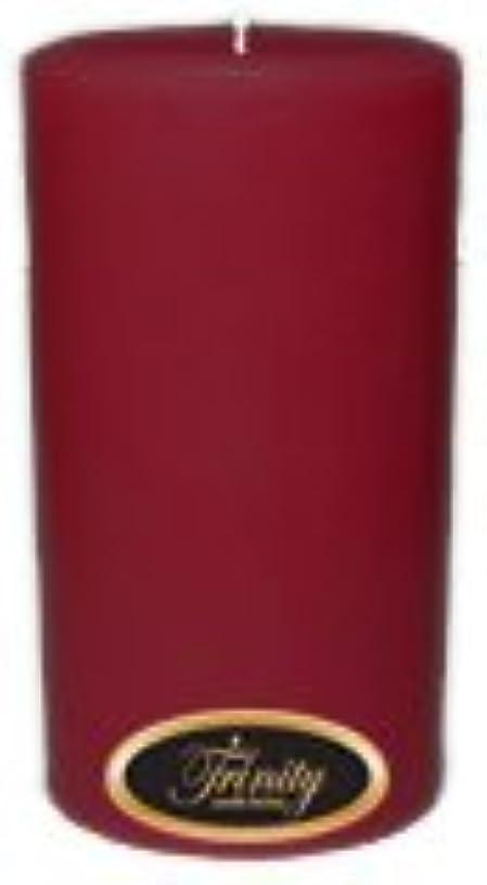 Trinity Candle工場 – Creme Brulee – Pillar Candle – 3 x 6