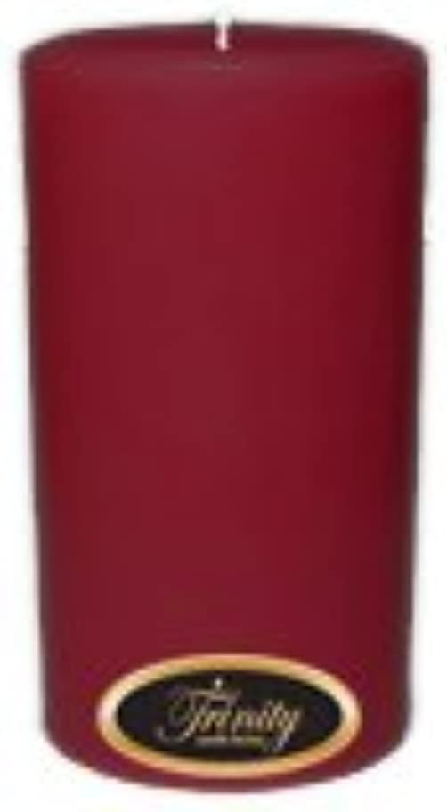 故障留まる信じるTrinity Candle工場 – Creme Brulee – Pillar Candle – 3 x 6