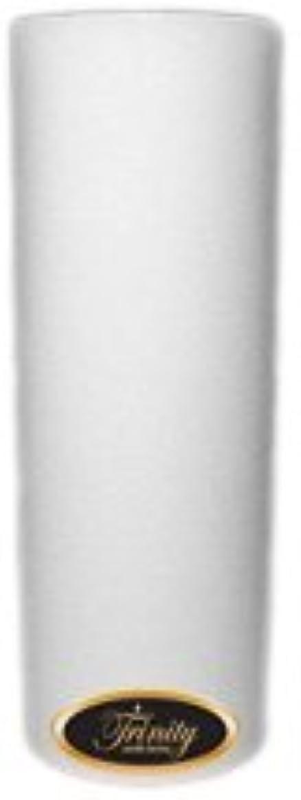 召集する省うまくやる()Trinity Candle工場 – Fresh Linen – Pillar Candle – 3 x 9