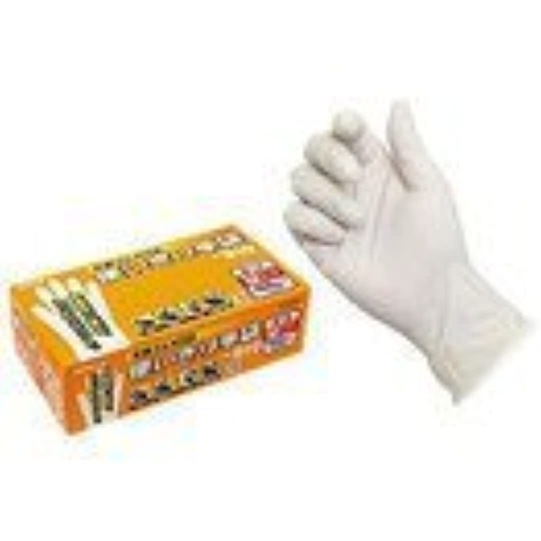 更新アーサーコナンドイルくエステー 天然ゴム使いきり手袋(粉つき) 100枚入x12箱 NO.910 M