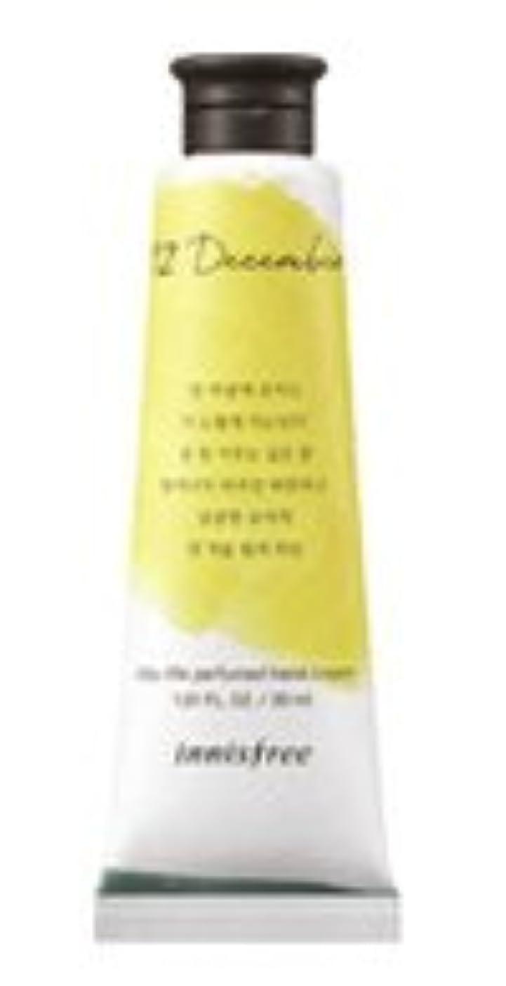お客様ガイド労働[1+1] イニスフリー 済州ライフパフューム ハンドクリーム (12月 真夜中の柚子茶) / Innisfree Jeju life Perfumed Hand Cream 30ml [並行輸入品]