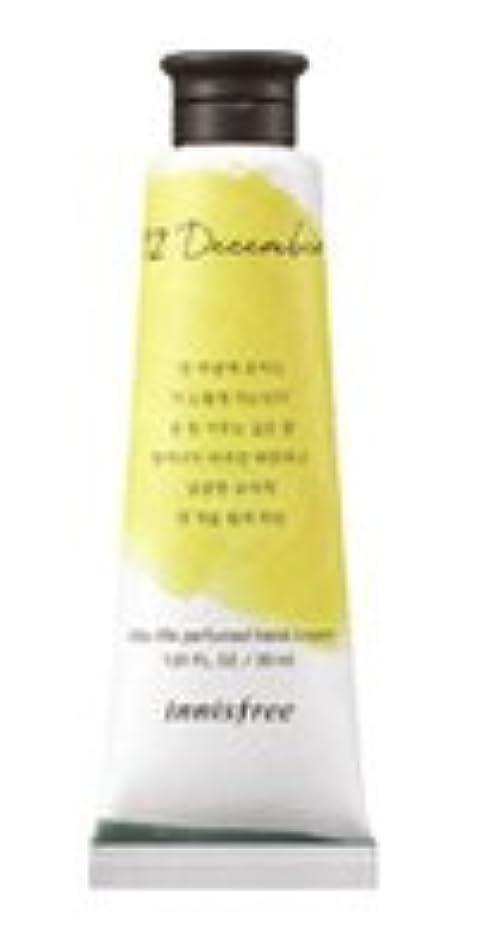 切手居心地の良いゲートInnisfree Jeju life Perfumed Hand Cream (12月 真夜中の柚子茶) / イニスフリー 済州ライフ パフューム ハンドクリーム 30ml [並行輸入品]