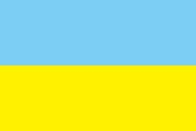世界の国旗 ウクライナ 国旗 [100×150cm 高級テトロン製]