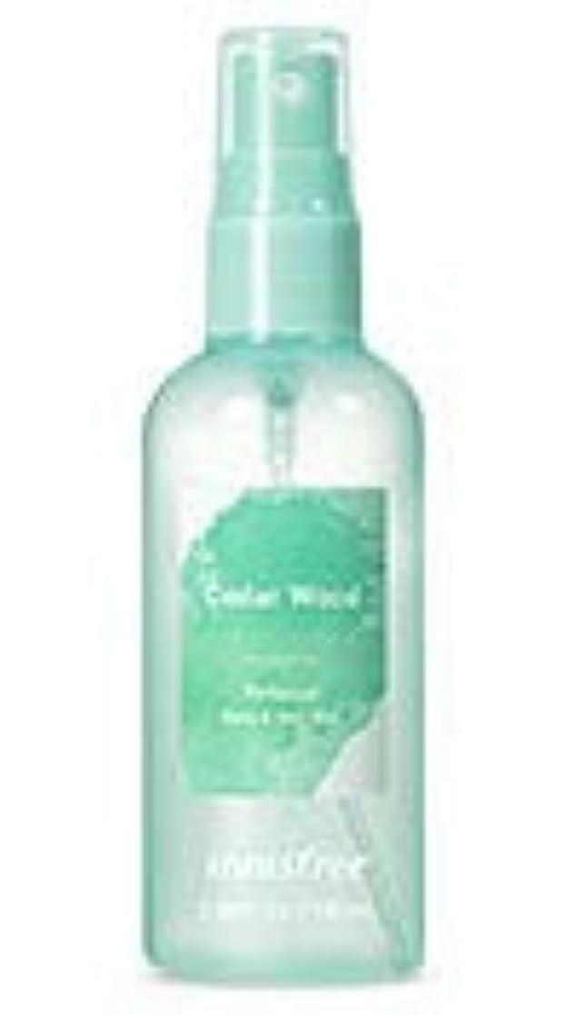 優雅な説得レース[イニスフリー.innisfree]パフュームドボディ&ヘアミスト100mL/ Perfumed Body&Hair Mist (cedar wood)
