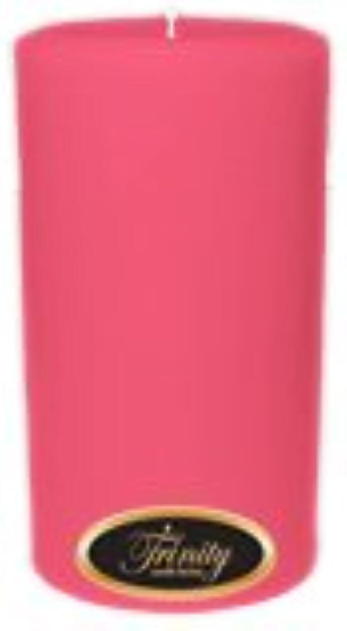 腐った民主主義ネクタイTrinity Candle工場 – ローズ – Pillar Candle – 3 x 6