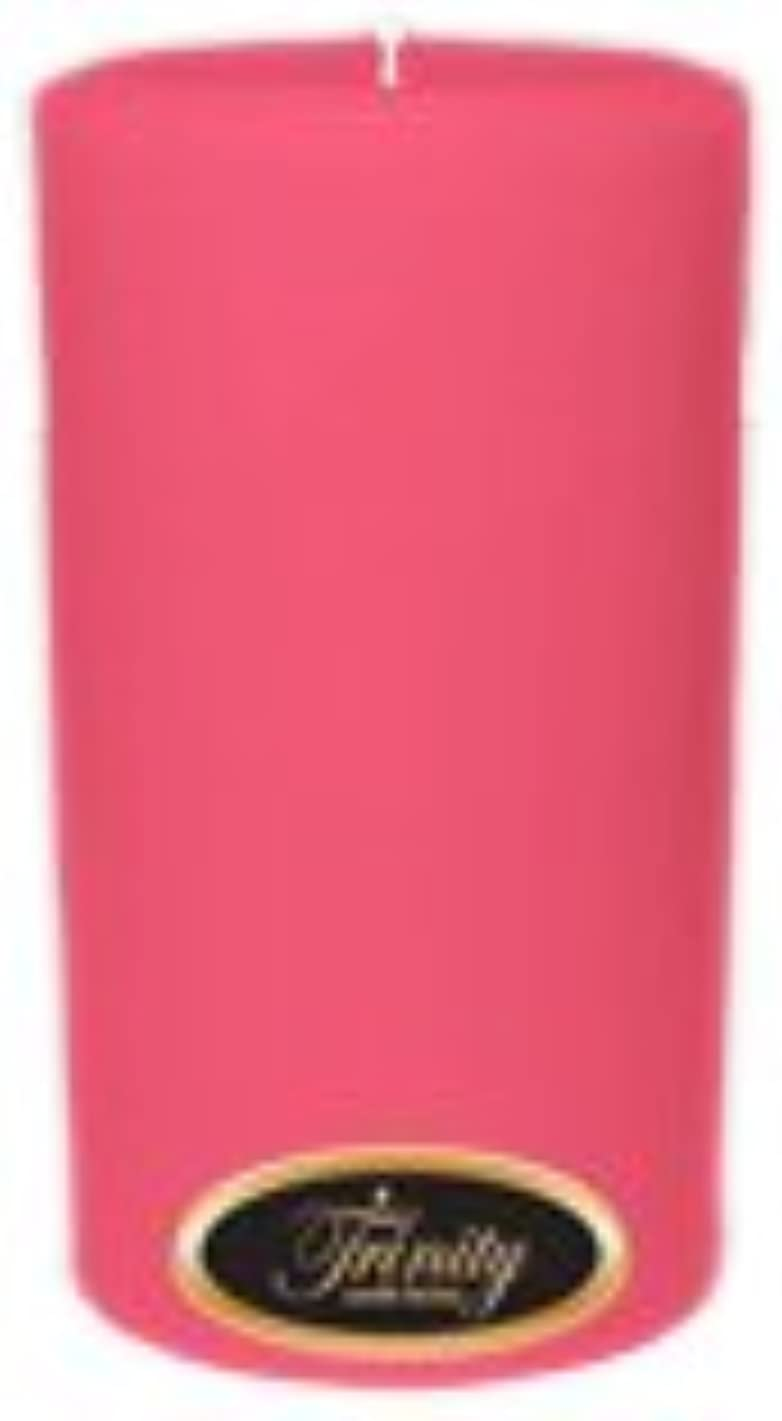 綺麗な灌漑に慣れTrinity Candle工場 – ローズ – Pillar Candle – 3 x 6