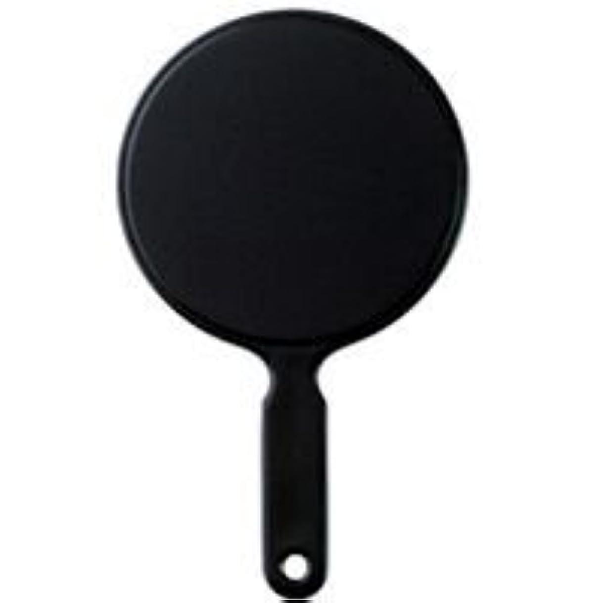 アウター蒸気磁気ハンドミラー L ブラック S-950