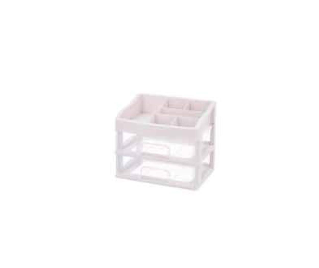 決定玉ねぎ署名化粧品収納ボックス透明引き出しタイプデスクトップ収納ラック化粧台化粧品ケーススキンケア用品 (Size : M)