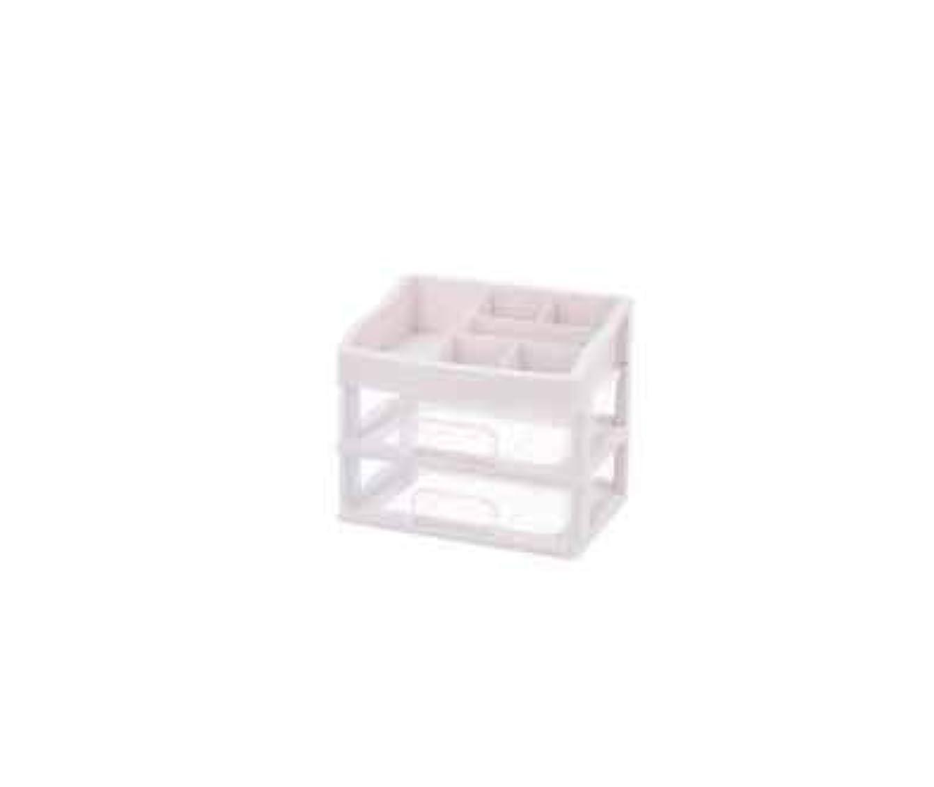対話対話地殻化粧品収納ボックス透明引き出しタイプデスクトップ収納ラック化粧台化粧品ケーススキンケア用品 (Size : M)