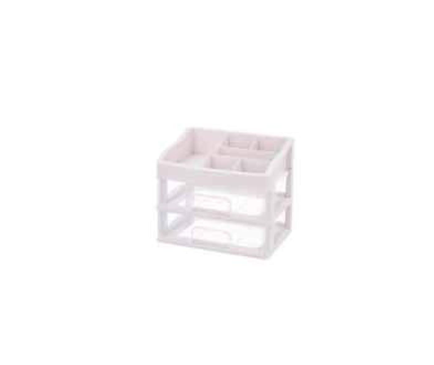 空いている支配的弾薬化粧品収納ボックス透明引き出しタイプデスクトップ収納ラック化粧台化粧品ケーススキンケア用品 (Size : M)